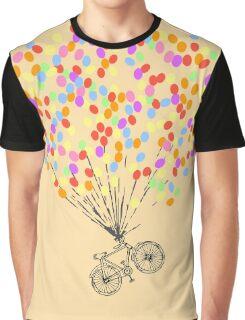 Bike & Balloons Graphic T-Shirt