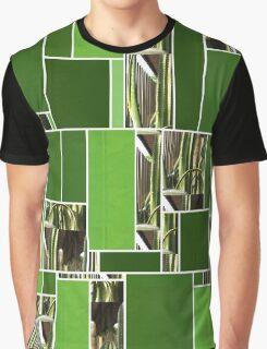 Cactus Garden Art Rectangles 12 Graphic T-Shirt