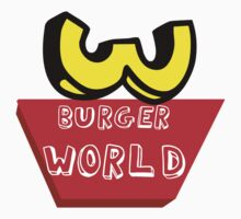 Burger World by John Garcia