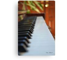 Let's the music Fallow Canvas Print