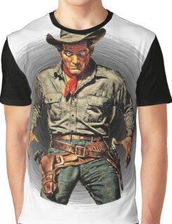 Classic Gunslinger Graphic T-Shirt