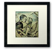 Romeo et Juliet ( detail ) Framed Print