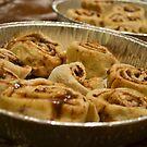 Cinnamon Rolls by Ashley Frechette