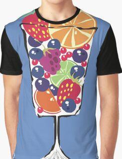 retro food fruit salad dessert dish Graphic T-Shirt
