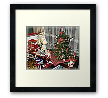 Christmas 2011 - Merry Christmas to all Framed Print