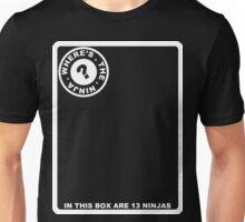 Where's The Ninja? Unisex T-Shirt