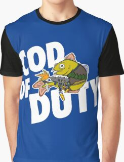 Cod Of Duty Graphic T-Shirt