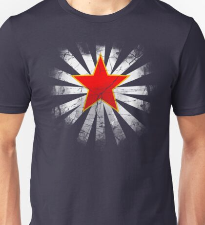 Lucky Star (Red is the new blue) Unisex T-Shirt
