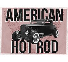 American Hot Rod - red version Photographic Print