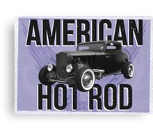 American Hot Rod - blue version Canvas Print