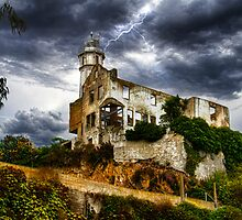 Alcatraz Storm, San Francisco Bay, California, USA by Jennifer Bailey