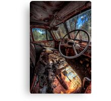 Deceased Timber Truck Canvas Print
