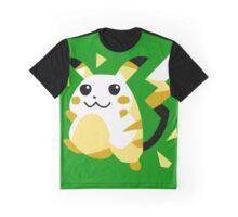 Retro Pikachu Graphic T-Shirt
