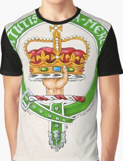 Scottish Crest of Clan Robertson Graphic T-Shirt
