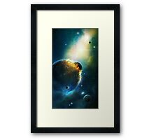Collision Course Framed Print