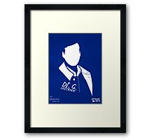 The Detective Inspector Framed Print