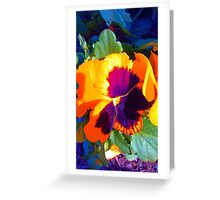A Colorful Winter Beauty Greeting Card