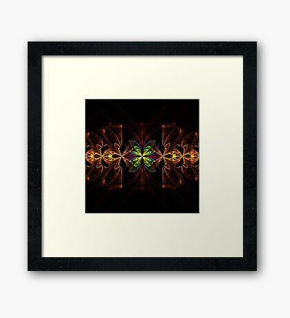 Butterfly Splits Framed Print