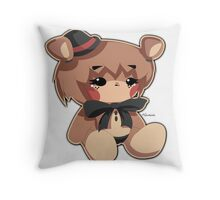 FNIA - Chibi/ Plush Freddy  Throw Pillow