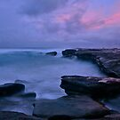 Afternoon at Norah Head. by Warren  Patten
