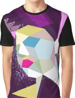electric face Graphic T-Shirt