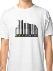 Barcode Cat Classic T-Shirt