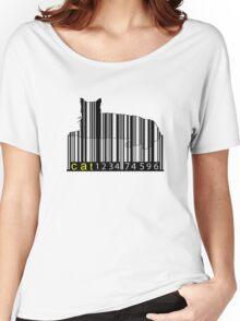 Barcode Cat Women's Relaxed Fit T-Shirt