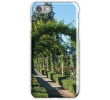 Arbour, Butchart Gardens iPhone Case/Skin