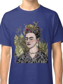 Frida Kahlo Self Portrait #2 (my version) Classic T-Shirt
