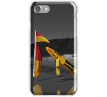 Swim between the flags iPhone Case/Skin