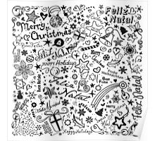 Merry Christmas - Multiple Languages Poster