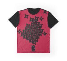 Ninja Tesselations Graphic T-Shirt