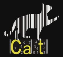 Barcode Cat  by Nhan Ngo