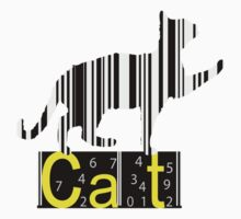 Barcode Cat  Kids Clothes