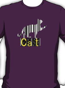 Barcode Cat  T-Shirt