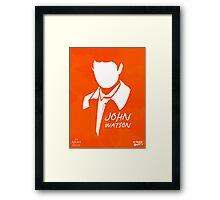 John H Watson Framed Print