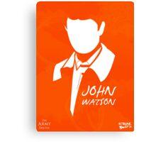 John H Watson Canvas Print