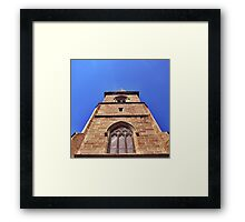 Gothic Revival Cathedral. Framed Print