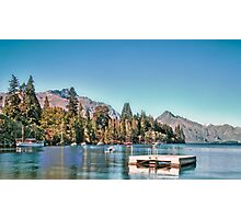 Lake Wakatipu, Queenstown, New Zealand Photographic Print