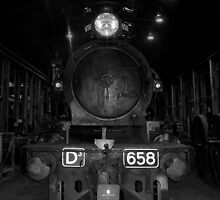 Steam Train at Newport by Alex Fricke
