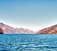 Lake Wakatipu, Queenstown, New Zealand, November 2011 by elspiko