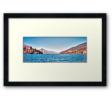 Lake Wakatipu, Queenstown, New Zealand, November 2011 Framed Print