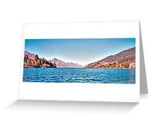 Lake Wakatipu, Queenstown, New Zealand, November 2011 Greeting Card