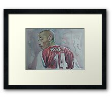 Therry Henry - Portrait 1 Framed Print