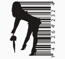 Barcode Sexy girl by Nhan Ngo