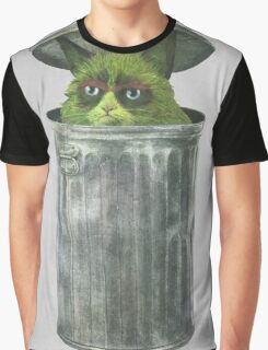 Grouchy Cat  Graphic T-Shirt