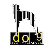 Barcode Dog by Nhan Ngo