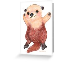 Otterly Awesome Otter Greeting Card