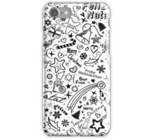 Merry Christmas - Multiple Languages iPhone Case/Skin