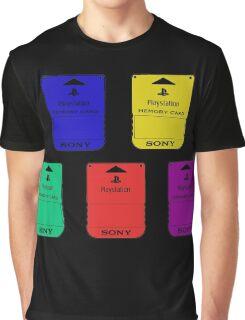 Memory Card Graphic T-Shirt